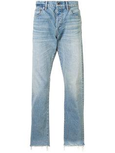 джинсы с необработанными краями Simon Miller