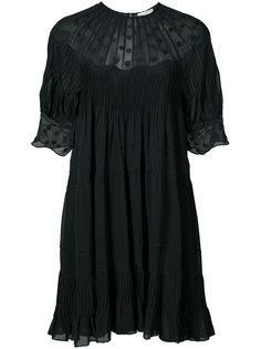 платье шифт с вышивкой Ulla Johnson