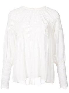 блузка с вышивкой Ulla Johnson
