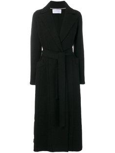пальто макси с поясом  Harris Wharf London