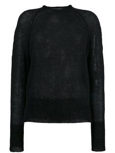свитер с горловиной с необработанными краями Forte Forte