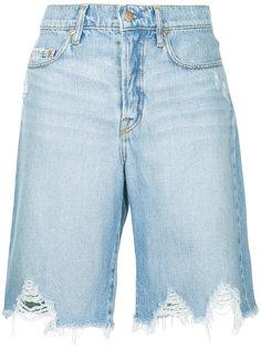 джинсовые шорты  Nobody Denim