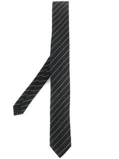 галстук в полоску Saint Laurent