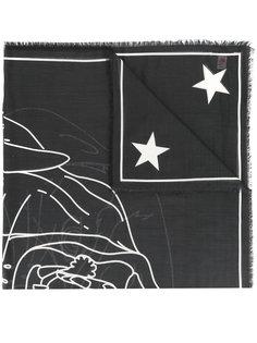шарф с принтом Rottweiler Givenchy