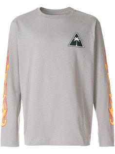 футболка с длинными рукавами и принтом Palm Angels