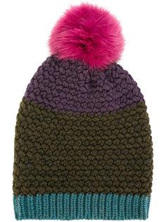 шапка-бини с помпоном Etro