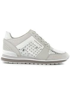 кроссовки с перфорированным дизайном Michael Michael Kors