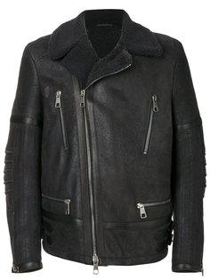 "кожаная куртка-""авиатор"" Neil Barrett"