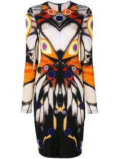 платье с симметричным рисунком Givenchy