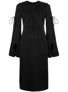 платье-шифт со шнуровкой Ellery
