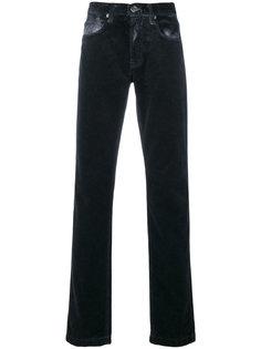 брюки с эффектом потертости Massimo Alba