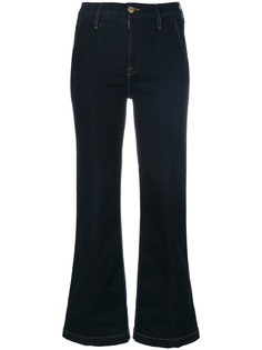 расклешенные брюки Frame Denim