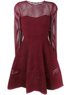 расклешенное платье с длинными рукавами Antonino Valenti