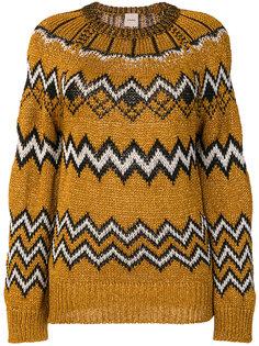 свитер с отблеском Nude