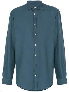 рубашка с косым воротником Massimo Alba
