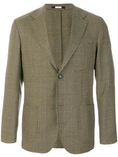 пиджак в клетку Massimo Alba