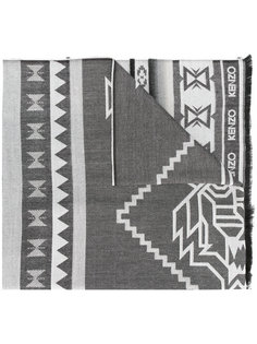 шарф с ацтекским принтом Kenzo