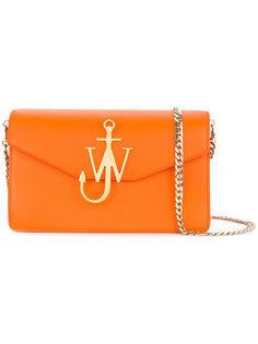 сумка-клатч с логотипом JW Anderson