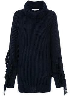 свитер свободного кроя с бахромой Stella McCartney