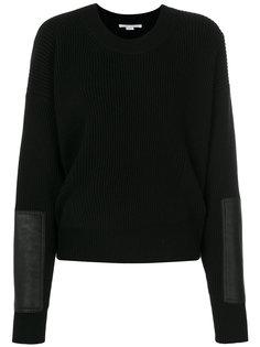 свитер с круглым вырезом с ребристой фактурой Stella McCartney