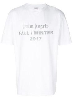 футболка с принтом-логотипом Palm Angels