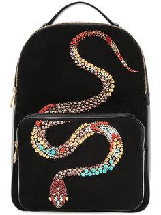 рюкзак Snake с украшением из заклепок Roberto Cavalli