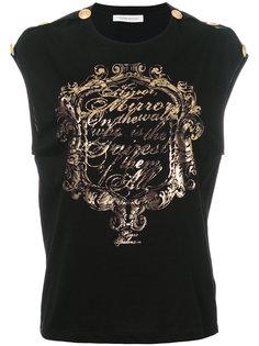 футболка с принтом  Pierre Balmain