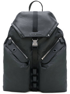 рюкзак с наружными карманами Emporio Armani