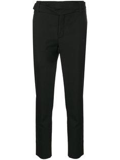 брюки с поясом Le Smoking Saint Laurent