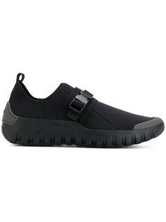 кроссовки с ремешком Prada