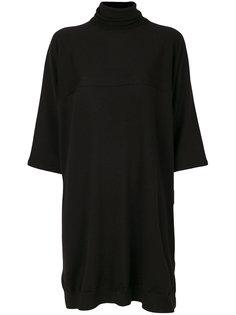 свободное трикотажное платье Mm6 Maison Margiela