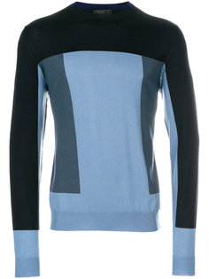 "свитер дизайна ""колор-блок"" Prada"