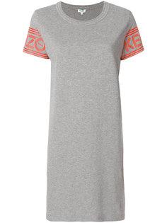 платье с логотипом  Kenzo