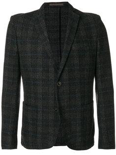 твидовый пиджак с застежкой на две пуговицы Eleventy