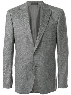 твидовый пиджак с застежкой на две пуговицы Z Zegna