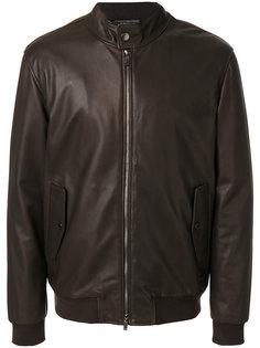 куртка-бомбер на молнии Z Zegna