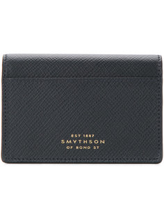 кошелек на кнопке Smythson