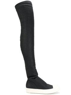 сапоги с носочной вставкой Rick Owens DRKSHDW