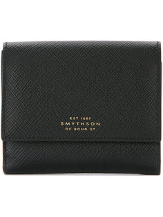 кошелек с логотипом Smythson