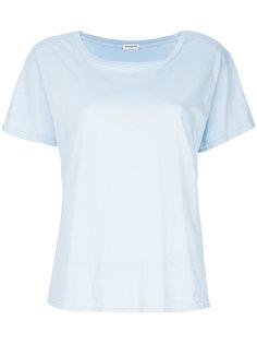 классическая однотонная футболка Masscob