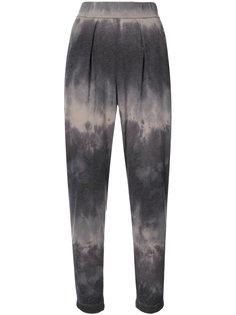 укороченные камуфляжные брюки Raquel Allegra