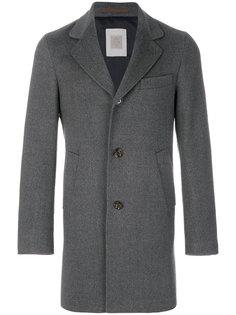 однобортное пальто Eleventy