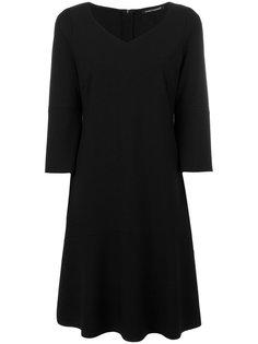 приталенное расклешенное платье Luisa Cerano