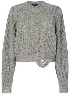 свитер с рваным эффектом Designers Remix