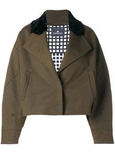 укороченная свободная куртка  Capucci