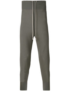 трикотажные спортивные брюки с заниженной проймой Rick Owens