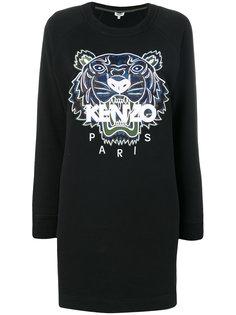 платье-толстовка с тигром  Kenzo