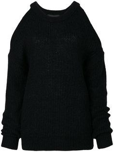 свитер с вырезами на плечах Designers Remix