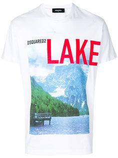 футболка Lake Dsquared2