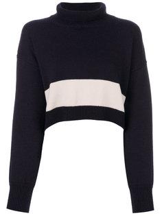 свитер с высоким воротом Erika Cavallini